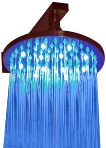 ALFI LED5002 Round Multi Color LED Rain Showerhead