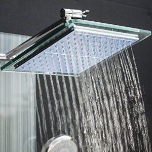 AKDY AZ-787392F LED Temperature Display Bath System ShowerPanel AZ878392H/22
