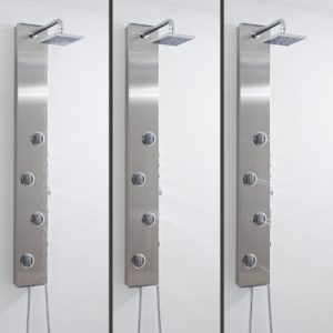 Hudson Reed Theme Thermostatic Shower Panel UFG-AS333