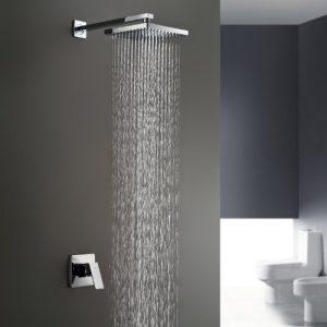 LightInTheBox Sprinkle Chrome Wall Mount Rainfall Shower 610012