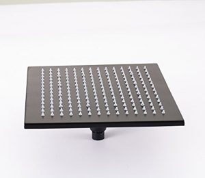 Rozinsanitary 10 Inch LED Oil Rubbed Bronze Rainfall Shower