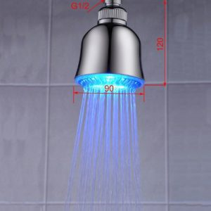 Sprinkle LED Temperature Sensitive Color Changing Shower 89751