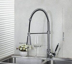 Detroit Bathware LED Spray Faucet 5552