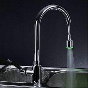 Detroit Bathware Yanksmart LED Spray Faucet No Battery Tap Mixer Yl-9587487