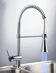 Detroit Bathware Yanksmart Single Handle LED Faucet WX03254