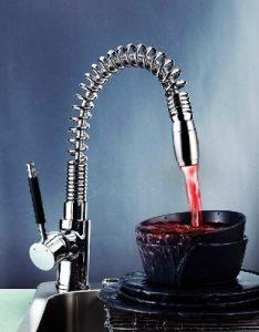 Detroit Bathware Yl-95425 LED Kitchen Faucet